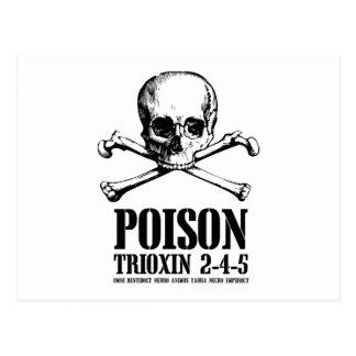 Aube de Trioxin 3-4-5 de zombi de poison des morts Cartes Postales