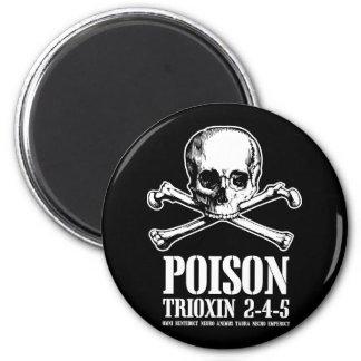 Aube de Trioxin 3-4-5 de zombi de poison des morts Magnet Rond 8 Cm