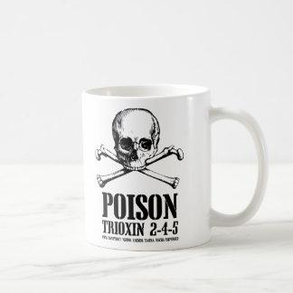 Aube de Trioxin 3-4-5 de zombi de poison des morts Mug Blanc