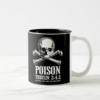 Aube de Trioxin 3-4-5 de zombi de poison des morts Tasse 2 Couleurs