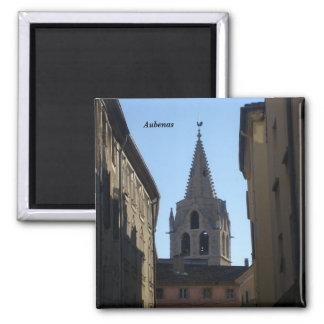 Aubenas - square magnet