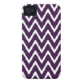 Aubergine Southern Cottage Chevrons Case-Mate iPhone 4 Cases