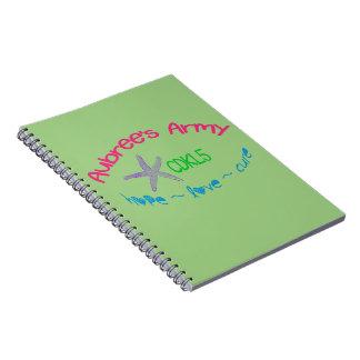 Aubree's Army CDKL5 Notebook