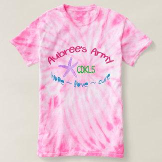 Aubree's Army CDKL5 Women's Tie-Dye T-shirt