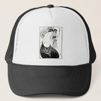 Aubrey Beardsley Peacock Skirt Trucker Hat