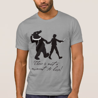 Aubrey Maturin Not a Moment to Lose T-Shirt