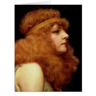 Auburn Beauty 1895 Card