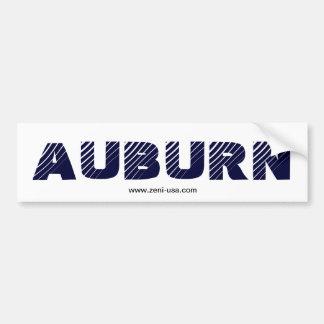 """AUBURN"" Bumper Sticker"