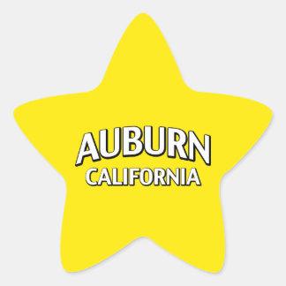 Auburn California Star Sticker