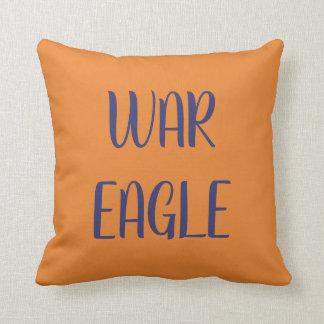 Auburn theme pillow