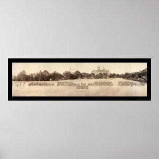 Auburn University Photo 1918 Poster