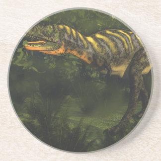 Aucasaurus dinosaur - 3D render Coaster