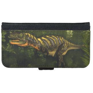 Aucasaurus dinosaur - 3D render iPhone 6 Wallet Case