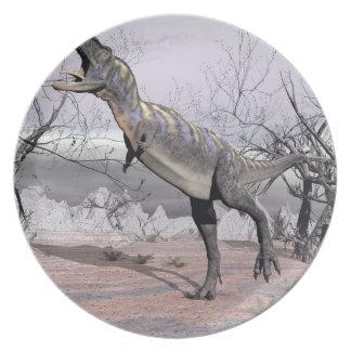 Aucasaurus dinosaur - 3D render Plates