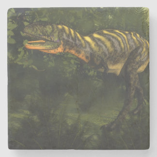 Aucasaurus dinosaur - 3D render Stone Coaster