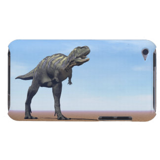 Aucasaurus dinosaur in the desert - 3D render Barely There iPod Covers