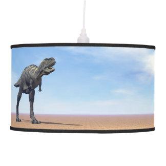 Aucasaurus dinosaur in the desert - 3D render Pendant Lamp