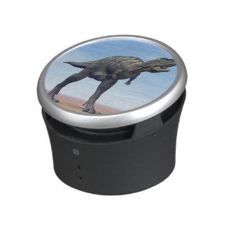 Aucasaurus dinosaur in the desert - 3D render Speaker