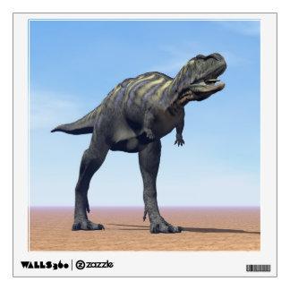 Aucasaurus dinosaur in the desert - 3D render Wall Decal