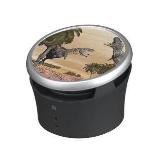 Aucasaurus dinosaurs fight - 3D render Bluetooth Speaker