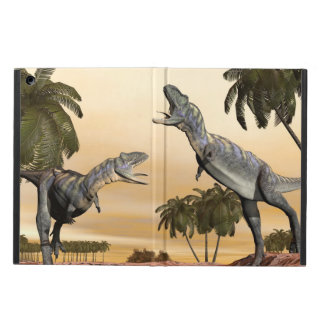 Aucasaurus dinosaurs fight - 3D render Case For iPad Air