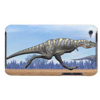 Aucasaurus dinosaurs running - 3D render iPod Case-Mate Cases