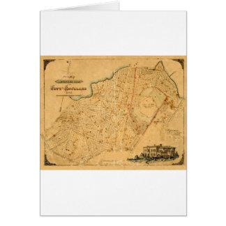 Auckland 1863 card