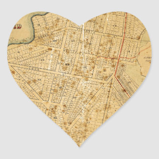 Auckland 1863 heart sticker