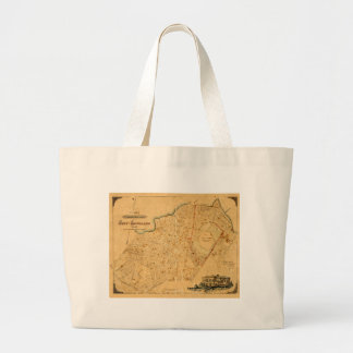 Auckland 1863 large tote bag