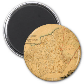 Auckland 1863 magnet
