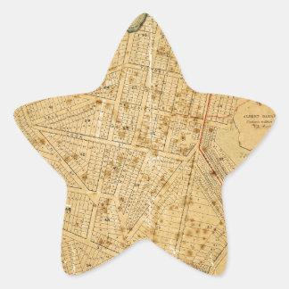 Auckland 1863 star sticker