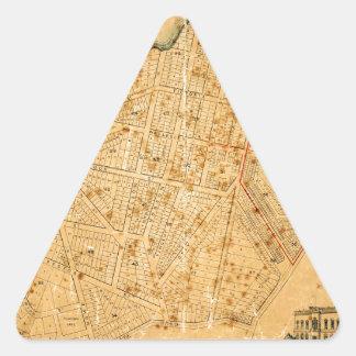 Auckland 1863 triangle sticker