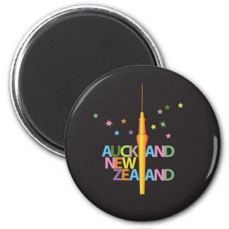 Auckland City New Zealand Magnet