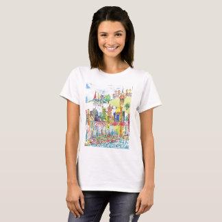 Auckland CityScape Women's T-Shirt