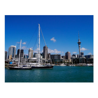 Auckland Harbour, New Zealand - Postcard