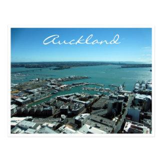 auckland harbour postcard