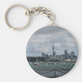 Auckland, New Zealand Keychain