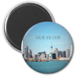 Auckland, New Zealand skyline Magnet