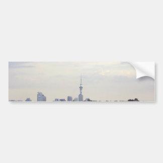 Auckland Skyline Bumper Sticker