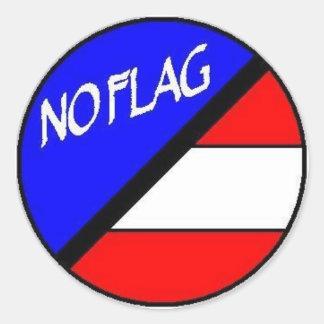 Aucun autocollant de drapeau