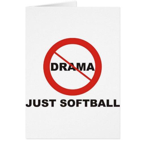 Aucun base-ball de drame juste cartes
