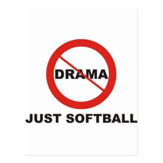 Aucun base-ball de drame juste cartes postales