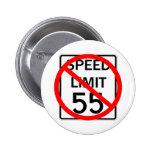 Aucun signe de limitation de vitesse de 55 M/H Badges