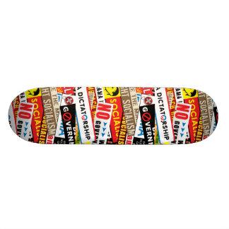 Aucune propagande socialiste skateboard  20 cm