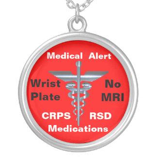 Aucuns médicaments médicaux de l alerte CRPS RSD d Bijouterie Personnalisée