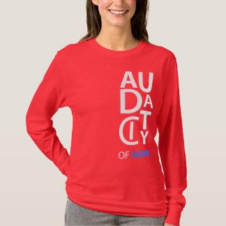 """Audacity"" Designer Ladies Long Sleeve T-Shirt"
