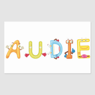 Audie Sticker