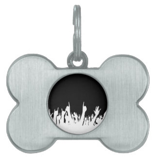 Audience Poster Background Pet ID Tag