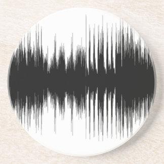 Audio Aural Ear Hearing Music Musical Recording.pn Coaster