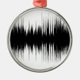 Audio Aural Ear Hearing Music Musical Recording.pn Metal Ornament